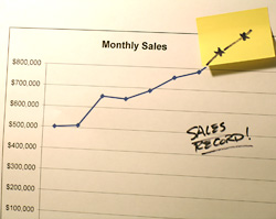 Sales are up - great! But profits are down. What happened?