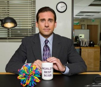 "Steve Carell as Michael Scott in ""The Office.""-- NBC Photo: Mitchell Haaseth"
